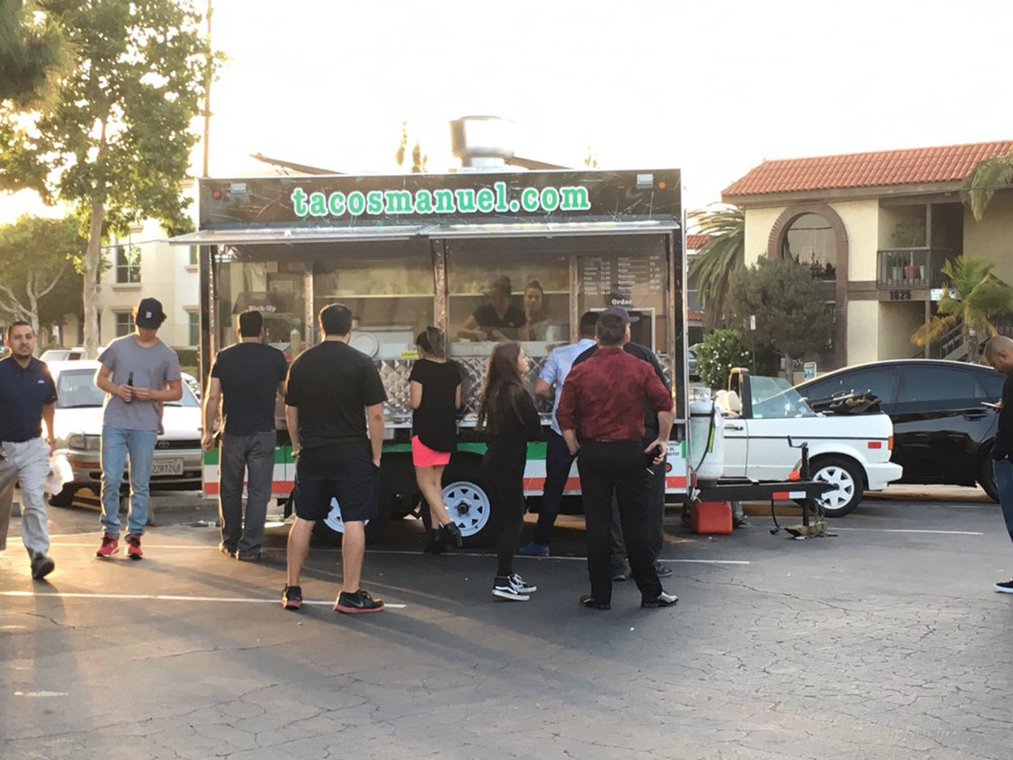 our tacos come fresh of our truck in santa ana